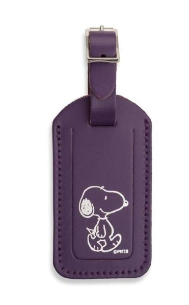 he Peanuts leather luggage tag from the Cambridge Satchel Company sells for $23.